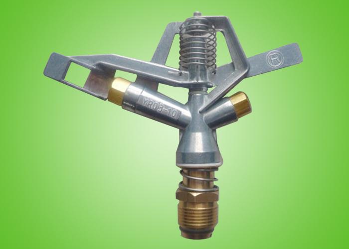 锌铝合金摇臂式喷头6分