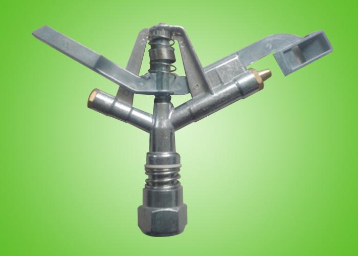 锌铝合金摇臂式喷头规格1寸